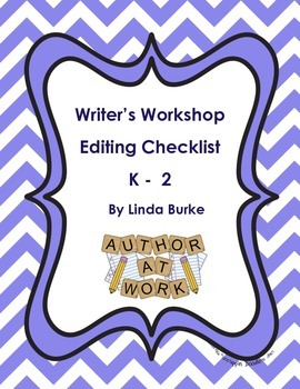 Writer's Workshop Editing Checklist