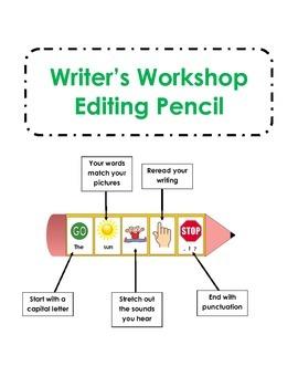 Writer's Workshop Editing Pencil