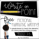 Writers Workshop: Fictional Narrative Writing Lesson