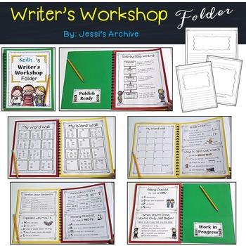 Writer's Workshop Folder