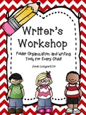 Writers Workshop Folder Organization