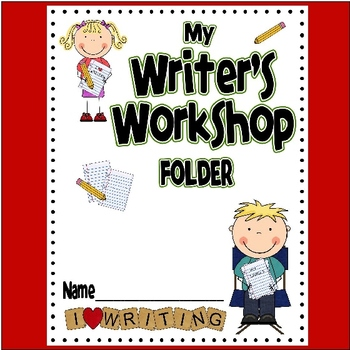 Writer's Workshop Folder Printables