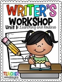 Writer's Workshop For Young Writers - Unit 1: Launching and Routines