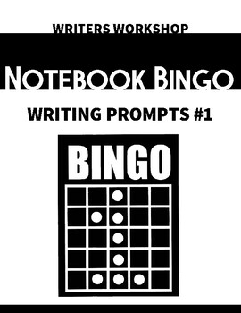 Writers Workshop Free-Write Prompt Bingo #1