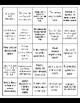 Writers Workshop Free-Write Prompt Bingo #3