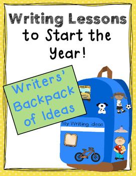 Writing Ideas With the Writers' Backpack