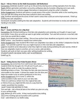 Writer's Workshop: Grade 3 Unit 4 Fairytale Writing