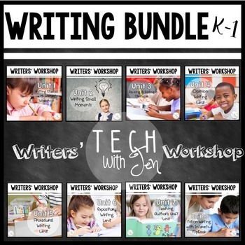 Writers' Workshop for Grades K-1 {Year-Long Bundle}