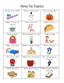 Writers Workshop How To Topic Poster