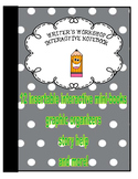 Writing Interactive notebook( Writer's Workshop)  (2nd and 3rd Grade)