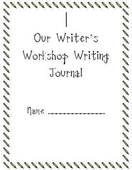 Writer's Workshop Journal