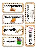 Writer's Workshop Labels for Writing Fundamentals