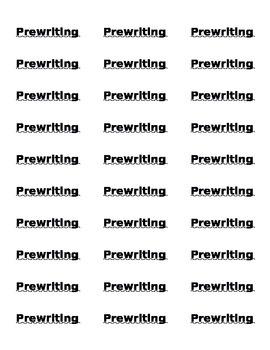 Writers Workshop Labels
