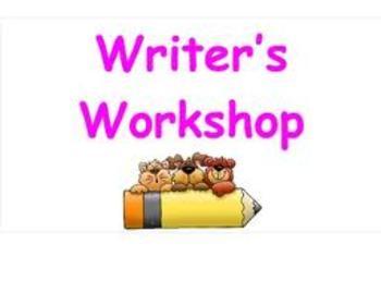 Writer's Workshop Launch Grades 3-6
