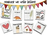 Writers' Workshop Letter Writing