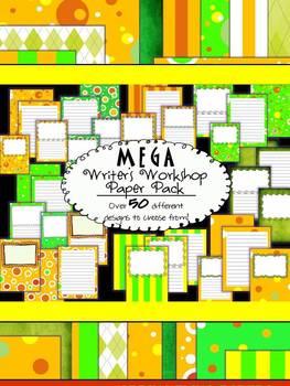 Writer's Workshop - MEGA Writing Paper Pack