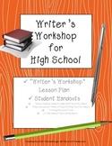 Writer's Workshop: Materials for Facilitating Peer Editing