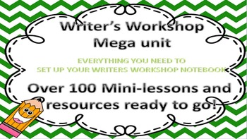 "Writer""s Workshop Mega unit FREEBIE"