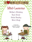 Writer's Workshop Mini-Lessons, Read Alouds, Guided Reading, and more!