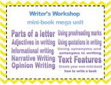 Writer's Workshop Mini-books Mega pack