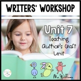 Writers' Workshop: Mo Willems Author Study