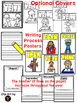 Writers Workshop Monthly Journal Pages and Writing Process Posters