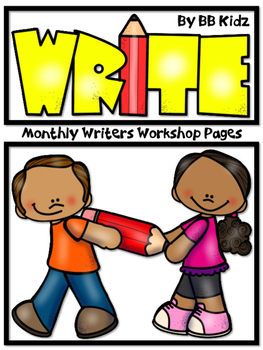 Writers Workshop Monthly Journal Pages and Writing Process