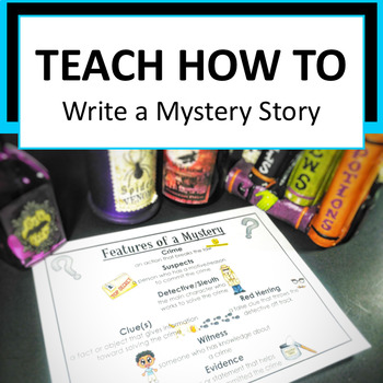 Writers Workshop - Mystery Story (Lessons Bundle)