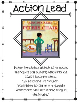Writer's Workshop: Narrative Mentor Text Leads Posters