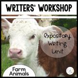 Information Writing Writers' Workshop Farm Animals