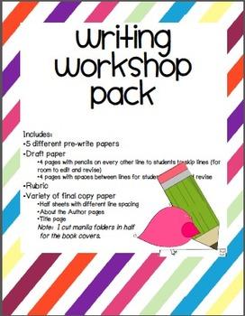 Writers' Workshop Pack