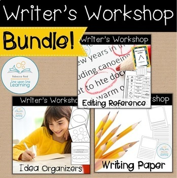 Writer's Workshop Papers, Ideas, and Editing BUNDLE