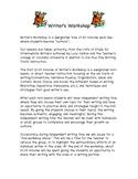 Writer's Workshop Parent Letter
