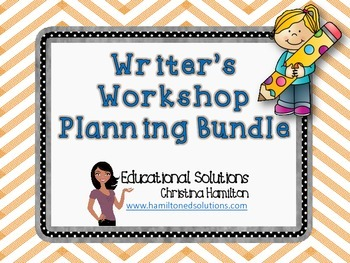 Writer's Workshop Planning Tools