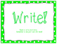 Writer's Workshop Posters