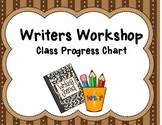 Writers Workshop Progress Chart