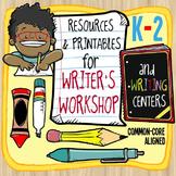Writers Workshop Resources and Printables