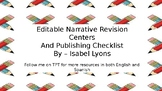 Writers Workshop - Revision Checklists