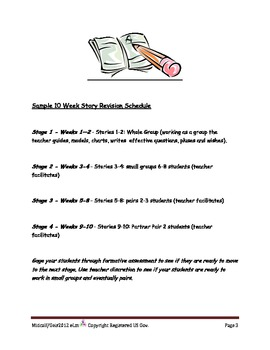 Common Core Writer's Workshop Revision Skills Resource for Grades 2nd-3rd grades
