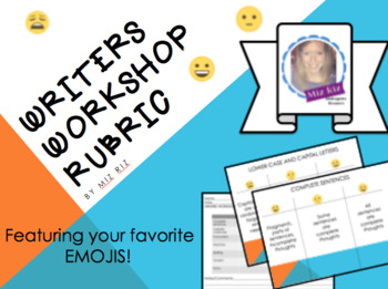 Writers Workshop Rubric Bundle for Upper Elementary! {Set of 7 Rubrics!}