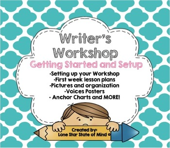 Writer's Workshop:  Setting up a Successful Workshop