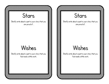 Writer's Workshop: Stars and Wishes