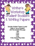 Writer's Workshop Student Booklets and Writing Paper Multi-Pack