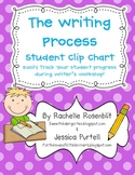 Writer's Workshop Student Progress Clip Chart