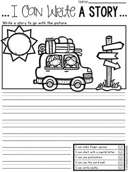 Writer's Workshop - Summer Printables
