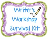 Writer's Workshop Survival Guide K-3