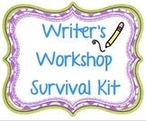 Writer's Workshop Survival Guide K-3