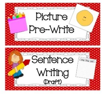 Writer's Workshop Task Cards