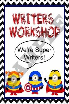 Writers Workshop Teacher Min-Lesson Binder Cover