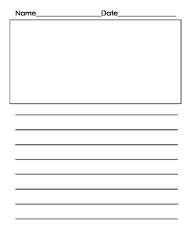 Writers Workshop Template- Portrait layout